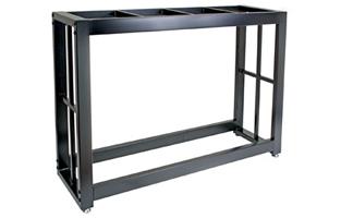 black vivarium stand