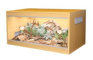 wood vivarium