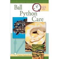 ball python care book