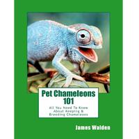 pet chameleons 101 book