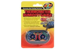 ball python thermostat and humiditygauge